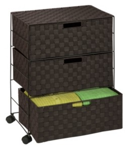 Honey-Can-Do 3-Drawer Rolling Chest