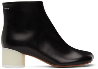 MM6 MAISON MARGIELA Black Classic Ankle Boots