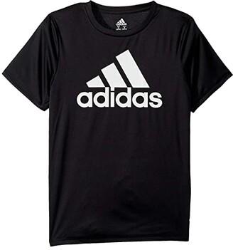 Adidas Originals Kids Replenish Clima Perform Tee (Big Kids) (White) Boy's T Shirt