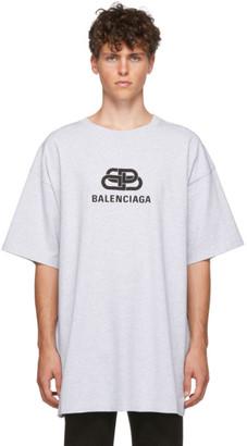 Balenciaga Grey BB T-Shirt