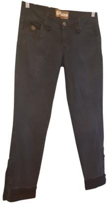 Galliano Navy Cotton - elasthane Jeans for Women
