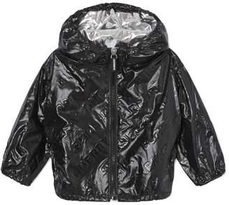 Burberry Kids Lightweight Hooded Logo Jacket