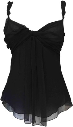 Hotel Particulier Black Silk Top for Women