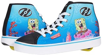 Heelys Hustle Spongebob (Black/White/Multi) Boy's Shoes