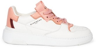 Givenchy Women's Spectre Two-Tone Leather Sneakers