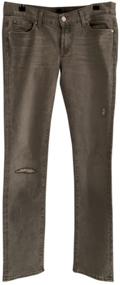 7 For All Mankind Grey Denim - Jeans Jeans for Women