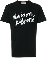 MAISON KITSUNÉ logo T-shirt - men - Cotton - S