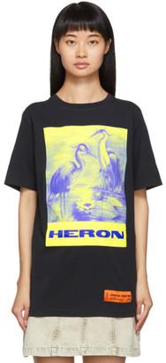 Heron Preston Black Heron Birds T-Shirt