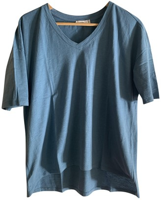 Closed Blue Cotton Top for Women