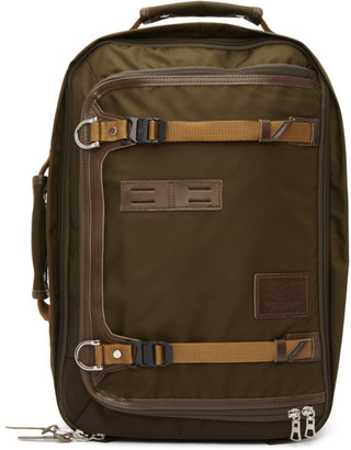 Master-piece Co Khaki Potential Version 2 Two-Way Backpack