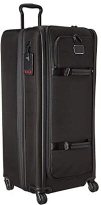 Tumi Alpha 3 Tall 4 Wheeled Duffel Packing Case (Black) Luggage