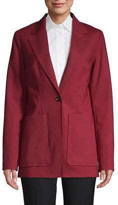 3.1 Phillip Lim Notch Lapel Wool-Blend Jacket