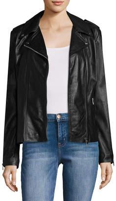 LAMARQUE Terri Leather Motorcycle Jacket
