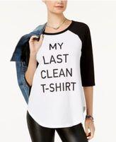 Hybrid Juniors' Conversation Raglan T-Shirt