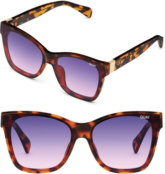 Quay x Lizzo After Party 57mm Square Sunglasses