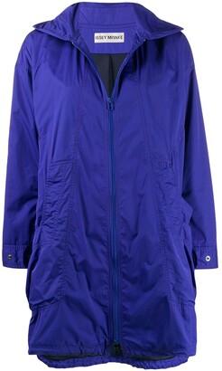 Issey Miyake Pre Owned 2000s Hooded Raincoat