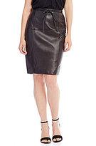 Antonio Melani Aria Genuine Leather Skirt