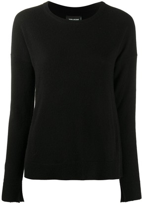 Zadig & Voltaire Star-Patch Knitted Jumper