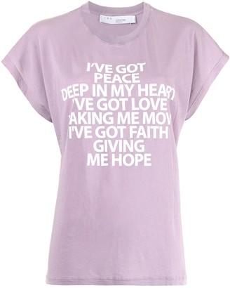 IRO Slogan Print T-Shirt