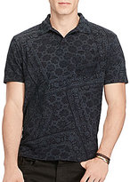 Polo Ralph Lauren Classic-Fit Featherweight Printed Short-Sleeve Polo Shirt
