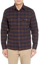 John W. Nordstrom Flannel Shirt Jacket
