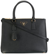 Prada double handles tote - women - Calf Leather - One Size