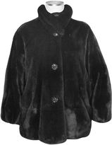Forzieri Ultimate Luxury Collection Black Mink Fur Jacket