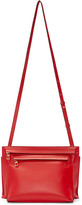 Loewe Red Leather Large Double Pouch Bag