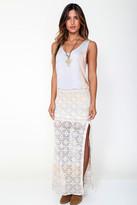 Goddis Reece Maxi Skirt In Bashful