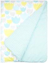 Babyletto 2-in-1 Play & Toddler Blanket- Tulip Garden - Tulip Garden