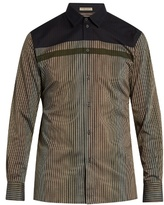 Bottega Veneta Striped Cotton-batiste Shirt