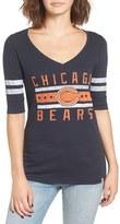 '47 Women's 'Chicago Bears Flanker Backer' Graphic Tee
