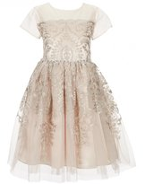 Bonnie Jean Just Another Angel Big Girls 7-16 Sequin-Embroidered A-Line Dress