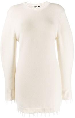 Alanui short knitted dress