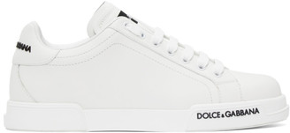 Dolce & Gabbana White Low-Top Sneaker