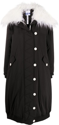 Sjyp Padded Button Up Coat