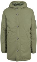 A.p.c. Siberie Olive Shell Parka
