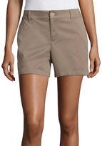 Liz Claiborne Woven Chino Shorts