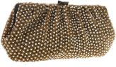 Santi Gold Beads Pearl Clutch