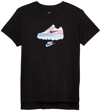 Nike Kids NSW Tee DPTL Air AM90 (Little Kids/Big Kids) (Black) Girl's T Shirt