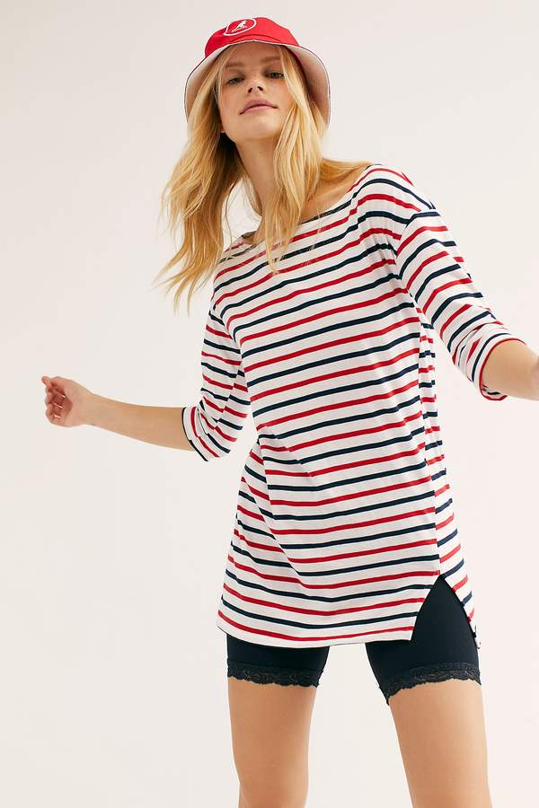 The Endless Summer Fp Beach Every Day Stripe Tunic
