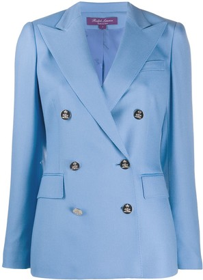Ralph Lauren Collection Double-Breasted Cashmere Blazer