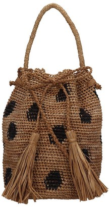 Alanui Handmade Jaguar Hand Bag In Beige Tech/synthetic