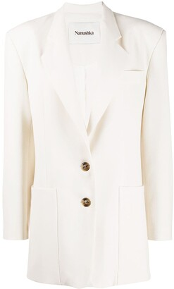 Nanushka Evan single-breasted blazer
