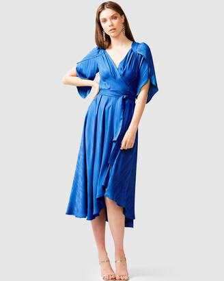 SACHA DRAKE - Women's Blue Dresses - Hanworth House Dress - Size One Size, 8 at The Iconic