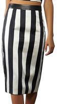 KENDALL + KYLIE Striped Pencil Skirt