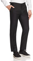 The Kooples Tailor Super 100's Slim Fit Tuxedo Trousers