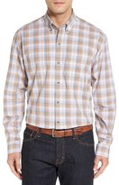 Cutter & Buck Men's 'Starboard' Regular Fit Plaid Cotton Poplin Sport Shirt