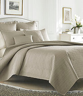 J Queen New York Hudson Quilted Satin Coverlet Mini Set