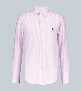 Polo Ralph Lauren Oxford knit long-sleeved shirt